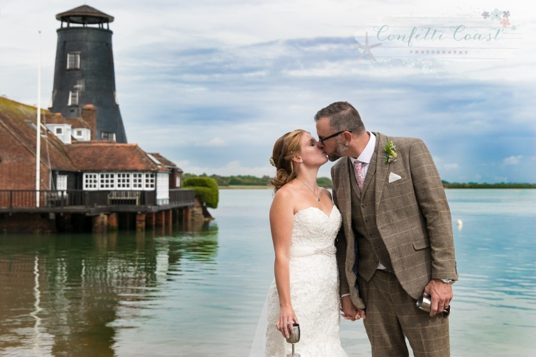 Langstone harbour wedding