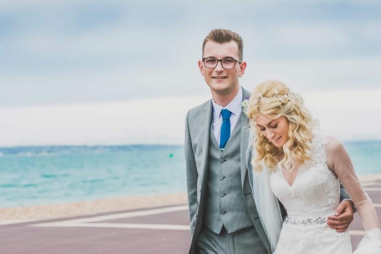 Romantic Southsea wedding on the coast