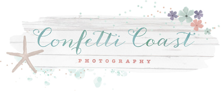 confetti coast photography